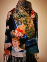 Paco's A Coruña Art Dames Wintersjaals