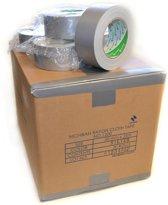 Nichiban   -  duct tape    -  50 mm x 25 m   -  Grijs