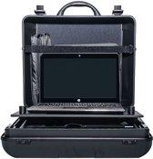 Hulshof Mobiz Compact Canon iP100/iP110: Laptop en printerkoffer, beschermen en vervoeren van een Canon mobiele printer en laptop.
