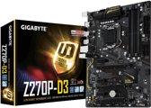 Gigabyte GA-Z270P-D3 moederbord ATX Intel® Z270