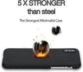 iPhone X / XS / iPhone 10 - Pitaka Aramid Fiber hoesje / Kevlar – kogelvrij, extreem sterk, dun & licht  – Twill patroon