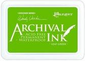Ranger Archival Ink pad - leaf groen