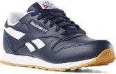 Reebok Classic Leather Sneakers Kinderen - Collegiate Navy/White/Gum - Maat 35