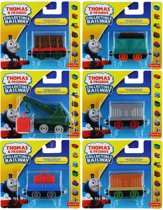 Thomas de trein Collectable Railway wagonnen set 6 stuks