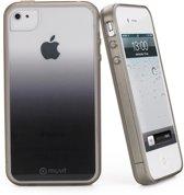 Muvit - semi-transparante Sunglasses Case - iPhone 5 / 5s - zwart