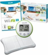 Wii Fit U (Game) + fit Meter (groen) + Balance Board (wit)