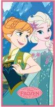 Disney Frozen Blue Sisters - Strandlaken - 70 x 140 cm - Multi