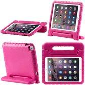 iPad Air 2 hoes voor kinderen | Foam for Kids | Shockproof Case Hoesje / Cover / Hoes / Bumper / Tablethoes/ Proof | Zeer sterk | Met Handige Handvat | Roze
