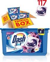 Dash 3in1 PODS Lavendel - Kwartaalbox 117 Wasbeurten - Wasmiddel Capsules