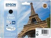 Epson T7021XL - Inktcartridge / Zwart / Hoge Capaciteit