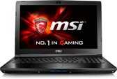 MSI GL62 6QF-635NL - Gaming Laptop