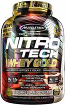 Nitro Tech Whey Gold 2510gr Cookies & Cream