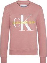 Calvin Klein Trui - Vrouwen - roze/wit/geel