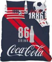 Coca Cola Sport - Dekbedovertrek - Lits Jumeaux - 240 x 220 cm - Multi