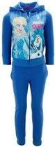 Frozen Joggingpak maat 104 blauw