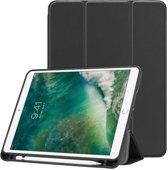 Apple iPad Air / Air 2 hoesje - Smart Tri-Fold Case met Pen Houder - zwart