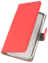 Nokia 1 Rood | bookstyle / book case/ wallet case Wallet Cases Hoes  | WN™