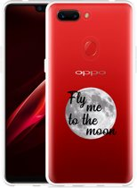 Oppo R15 Pro Hoesje Fly me to the Moon
