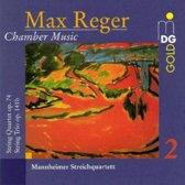Reger: Chamber Music Vol 2 / Mannheimer Streichquartett