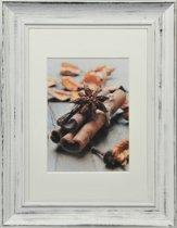 Henzo Anais Fotolijst - Fotomaat 20x30 cm - Wit