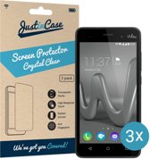 Just in Case Screen Protector voor Wiko Lenny 3 - Crystal Clear - 3 stuks