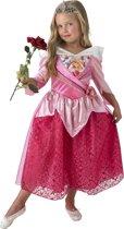 Disney Prinsessenjurk Doornroosje Shimmer - Kostuum Kind - Maat 116/128