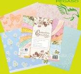 Tonic studios Butterflies Beautiful 8 x 8 inch paper pack 54 sheets