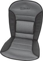 Carpoint Stoelkussen Comfort 90 X 45 Cm Zwart/grijs