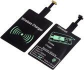 DrPhone Micro USB Wireless Charging Receiver - Draadloos Oplaad Ontvanger - Plug in/uit