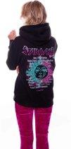 Stargaze Tour Oversized Hoodie Black