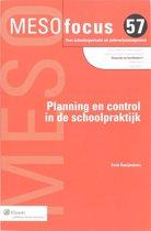 Meso focus - Planning en control in de schoolpraktijk