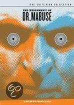 Testament Of Dr.Mabuse (dvd)