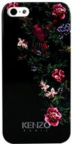 Kenzo - Zwart fleurig bloemetjes hardcase hoesje voor de iPhone 5 / 5s