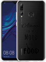 Huawei P Smart Plus 2019 Hoesje Mood for Food Black