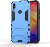 Mobigear Shockproof Hoesje Kickstand Blauw Xiaomi Redmi Note 7