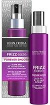 John Frieda Frizz Ease Forever Smooth Blow-Dry Styling Spray 100 ml – 18x5x2 cm | Volumizer voor het haar | Pluisvrij | Haar Producten