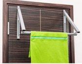 Ruimtebesparende Deurhaak Handdoekenrek - Deur Kledinghanger Kledingrek Houder Rek Stang Hanger - Deurhanger Kapstok - Hangend