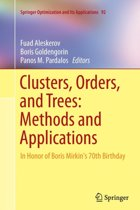 Clusters, Orders, and Trees