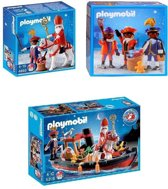 PLAYMOBIL Sint en Piet 3 in 1 set - 4893, 5040, 5206