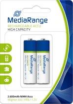 MediaRange MRBAT123 huishoudelijke batterij Rechargeable battery Nikkel-Metaalhydride (NiMH)