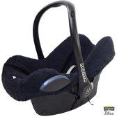 Autostoelhoes voor Maxi Cosi - Cabriofix, Citi, Pebble (plus) - Badstof Zwart