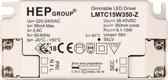 LED driver 350mA 9,1-15W dimbaar