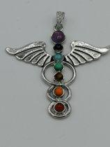 Chakra engel hanger