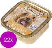 Mister Stuzzy Dog Paté 150 g - Hondenvoer - 22 x Zalm