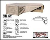 RHS300 Beschermhoes voor een hoek-loungebank 300 x 300 x 100 H: 70 cm taupe