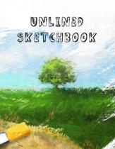 Unlined Sketchbook
