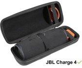 JBL Charge 4 Hoes / Hard Case met clip! - Speciaal voor JBL Charge 4 Speaker - Travelcase Beschermhoes Speakerhoes Opbergtas Hardcase JBL Charge 4