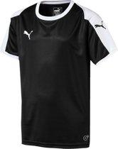 Puma Liga  Sportshirt - Maat 164  - Unisex - zwart/wit