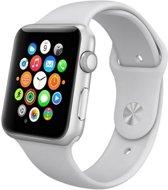 Apple watch 42mm / 44mm rubberen sport bandje - Grijs