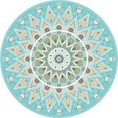 Vinyl  Placemats | Mandala Aqua | 6 stuks (1 gratis)